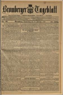 Bromberger Tageblatt. J. 34, 1910, nr 46