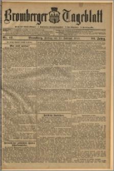 Bromberger Tageblatt. J. 34, 1910, nr 47