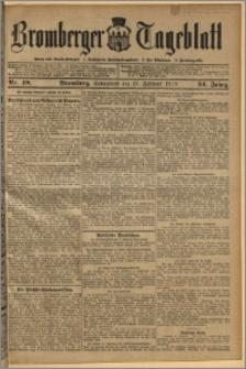 Bromberger Tageblatt. J. 34, 1910, nr 48