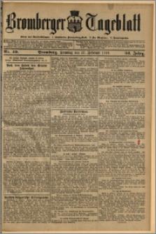 Bromberger Tageblatt. J. 34, 1910, nr 49