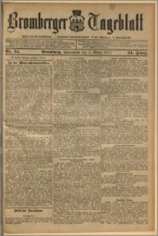 Bromberger Tageblatt. J. 34, 1910, nr 54