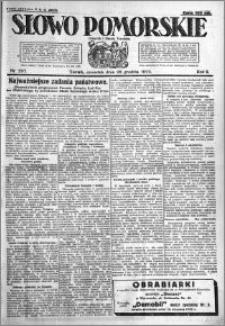 Słowo Pomorskie 1922.12.28 R.2 nr 297