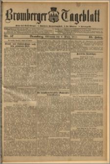 Bromberger Tageblatt. J. 34, 1910, nr 57