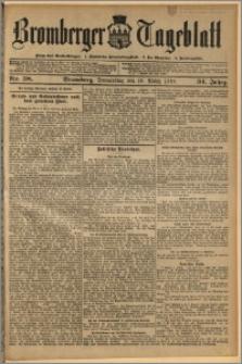 Bromberger Tageblatt. J. 34, 1910, nr 58