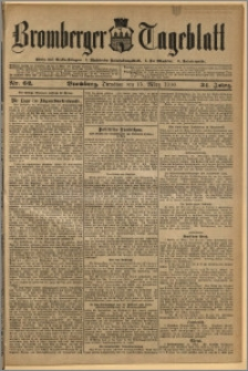 Bromberger Tageblatt. J. 34, 1910, nr 62