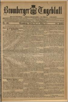 Bromberger Tageblatt. J. 34, 1910, nr 65