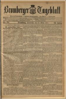 Bromberger Tageblatt. J. 34, 1910, nr 70