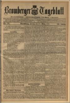 Bromberger Tageblatt. J. 34, 1910, nr 71