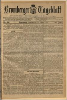 Bromberger Tageblatt. J. 34, 1910, nr 72
