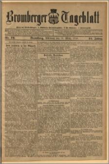 Bromberger Tageblatt. J. 34, 1910, nr 73