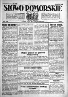 Słowo Pomorskie 1922.12.29 R.2 nr 298