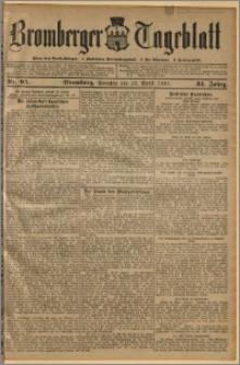 Bromberger Tageblatt. J. 34, 1910, nr 95