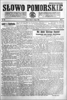 Słowo Pomorskie 1921.02.02 R.1 nr 25