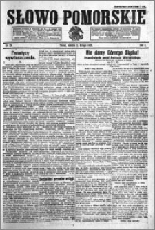 Słowo Pomorskie 1921.02.05 R.1 nr 27