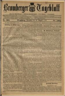 Bromberger Tageblatt. J. 34, 1910, nr 202