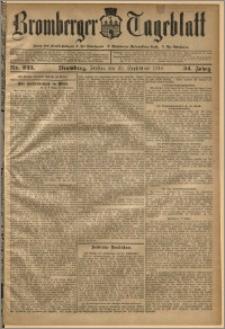 Bromberger Tageblatt. J. 34, 1910, nr 223