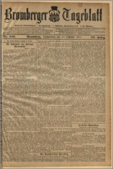 Bromberger Tageblatt. J. 34, 1910, nr 240