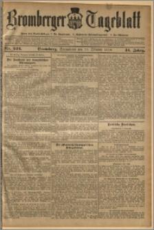 Bromberger Tageblatt. J. 34, 1910, nr 242