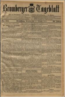 Bromberger Tageblatt. J. 34, 1910, nr 244