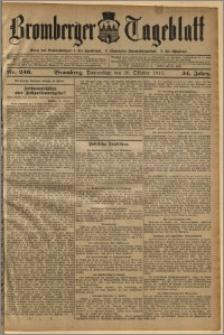 Bromberger Tageblatt. J. 34, 1910, nr 246