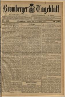 Bromberger Tageblatt. J. 34, 1910, nr 247