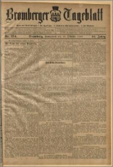 Bromberger Tageblatt. J. 34, 1910, nr 254