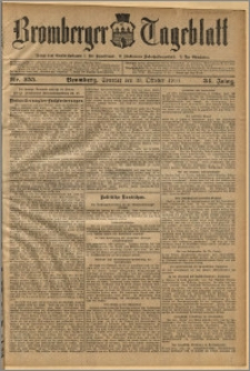 Bromberger Tageblatt. J. 34, 1910, nr 255
