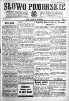 Słowo Pomorskie 1921.02.10 R.1 nr 31