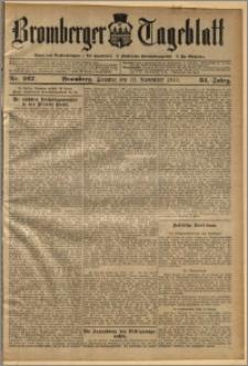 Bromberger Tageblatt. J. 34, 1910, nr 267