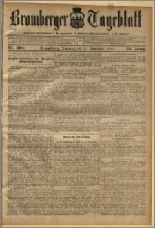 Bromberger Tageblatt. J. 34, 1910, nr 268