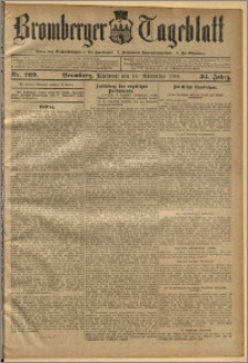 Bromberger Tageblatt. J. 34, 1910, nr 269
