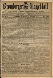 Bromberger Tageblatt. J. 34, 1910, nr 270