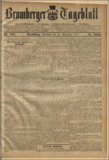 Bromberger Tageblatt. J. 34, 1910, nr 273