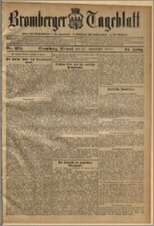 Bromberger Tageblatt. J. 34, 1910, nr 274