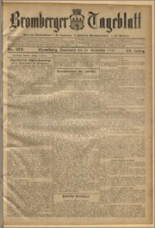 Bromberger Tageblatt. J. 34, 1910, nr 277