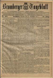 Bromberger Tageblatt. J. 34, 1910, nr 278