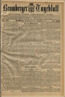 Bromberger Tageblatt. J. 34, 1910, nr 279