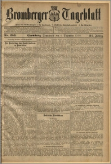 Bromberger Tageblatt. J. 34, 1910, nr 283