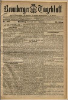 Bromberger Tageblatt. J. 34, 1910, nr 284