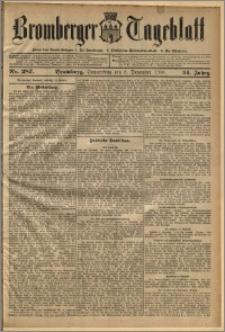 Bromberger Tageblatt. J. 34, 1910, nr 287