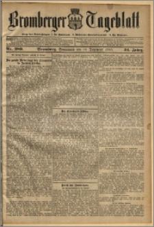 Bromberger Tageblatt. J. 34, 1910, nr 289