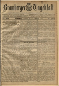Bromberger Tageblatt. J. 34, 1910, nr 290