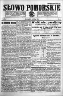 Słowo Pomorskie 1921.02.12 R.1 nr 33