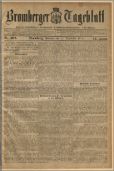 Bromberger Tageblatt. J. 34, 1910, nr 302