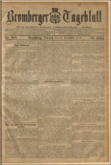 Bromberger Tageblatt. J. 34, 1910, nr 303