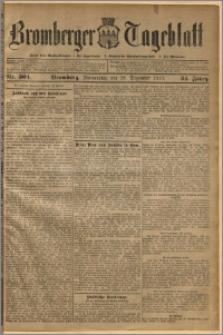 Bromberger Tageblatt. J. 34, 1910, nr 304