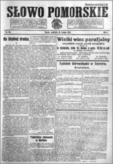 Słowo Pomorskie 1921.02.13 R.1 nr 34