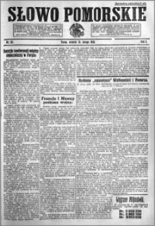 Słowo Pomorskie 1921.02.15 R.1 nr 35