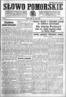 Słowo Pomorskie 1921.02.16 R.1 nr 36