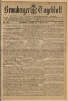 Bromberger Tageblatt. J. 35, 1911, nr 55